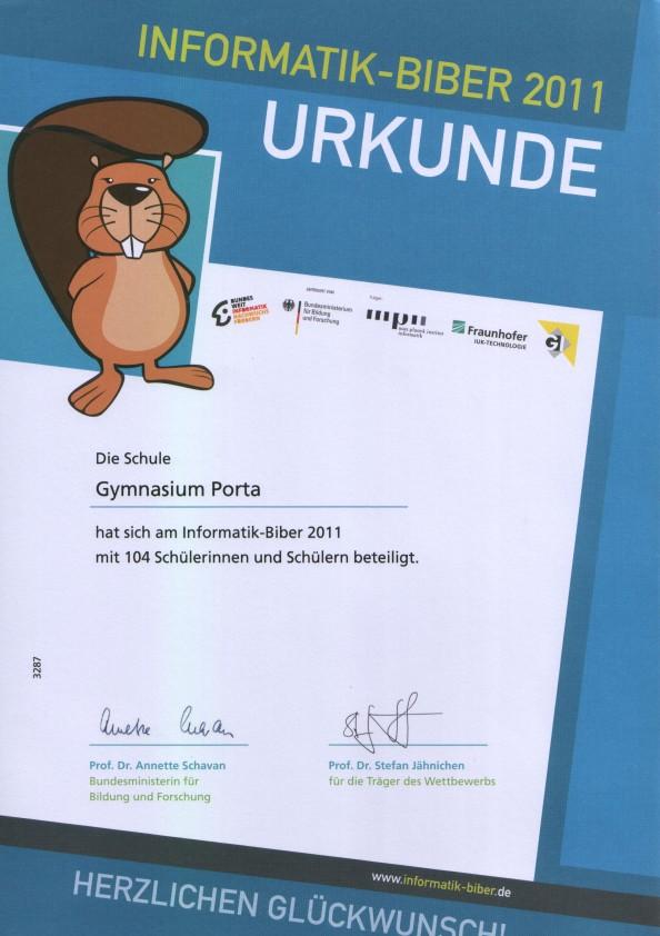Informatik-Biber 2011
