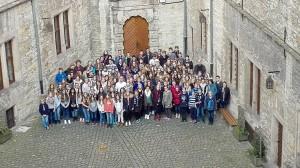 Probenwochenende auf der Wewelsburg 2015 - Gruppenfoto