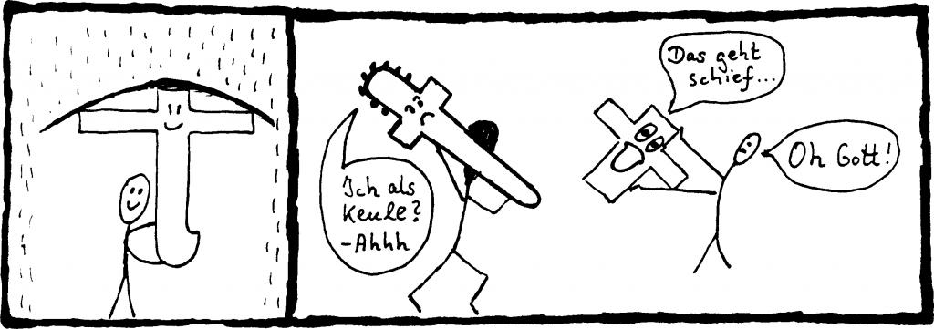 religion-zeichnung-regenschirm-keule
